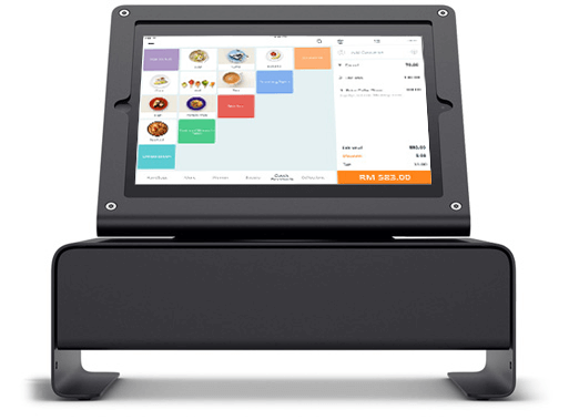 storehub quickserve pos on heckler windfall box set