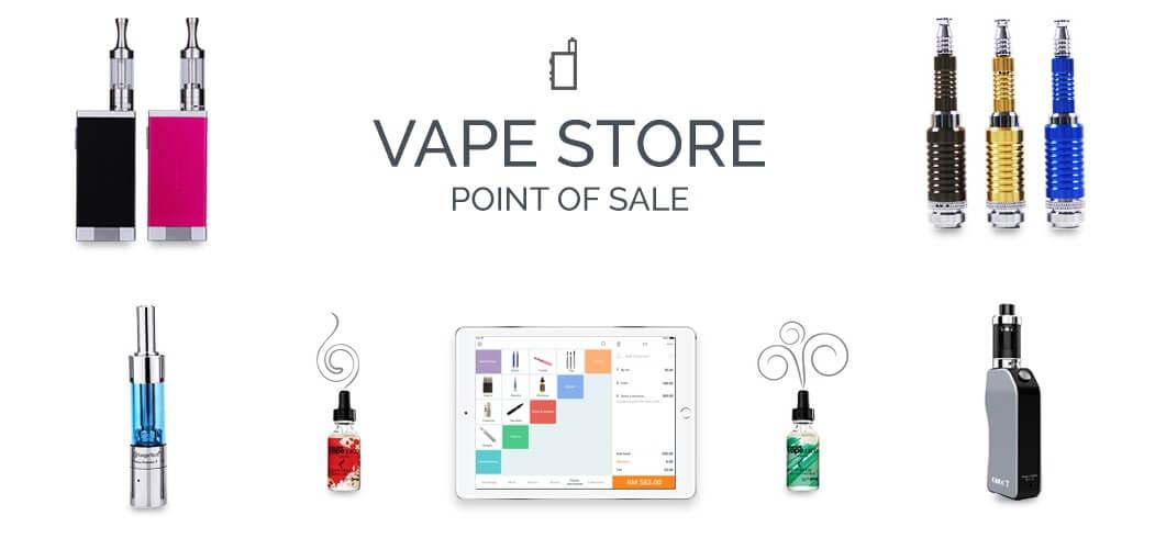 StoreHub vape store point of sale